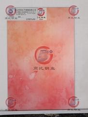 304不锈钢板纳米渐变  KTV金属制品装饰材料
