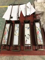 書院金屬制品裝飾材料 304不鏽鋼青古銅拉絲燈具
