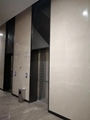 电梯门 304拉丝玫瑰金不锈钢满焊屏风