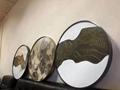 家居金属装饰材料  304玫瑰金不锈钢镜框架 3
