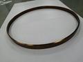 304亮光钛金拉丝不锈钢圆型镜