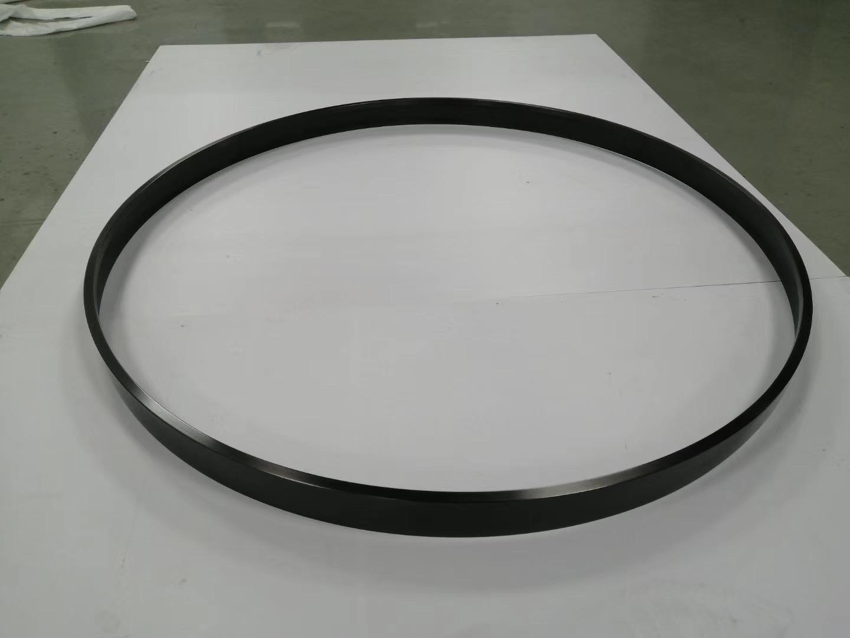 304亮光钛金拉丝不锈钢圆型镜框 5
