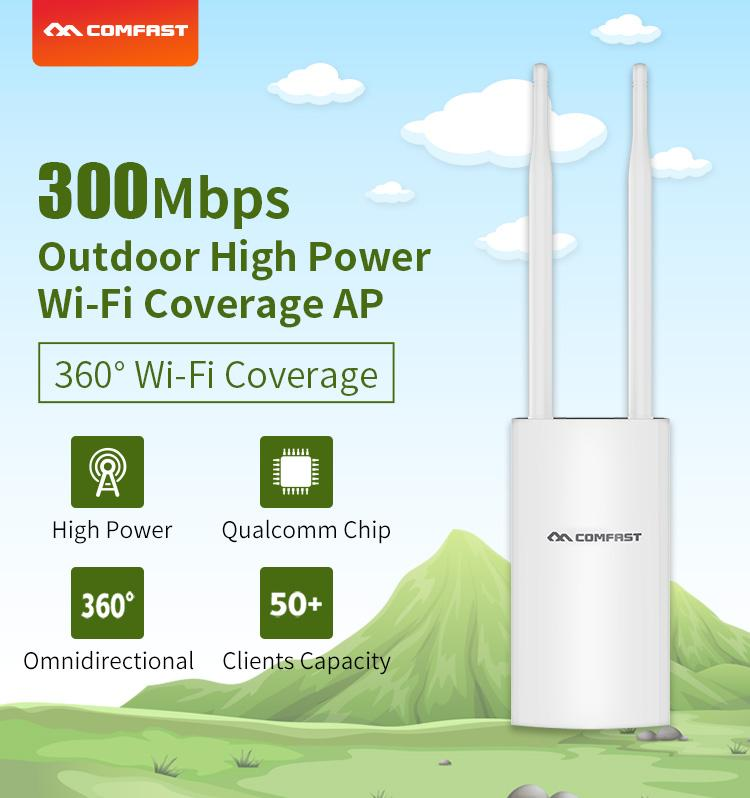 COMFAST CF-EW71 QCA9531 300Mbps Outdoor long Range WiFi Wireless Access Point  2