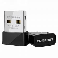 Comfast CF-811AC 650mbps RTL8811CU 802.11 AC USB Wifi Adapter