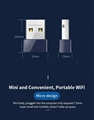 CF-WU723B 150Mbps 2 in 1 Wifi Bluetooth USB Adapter 4