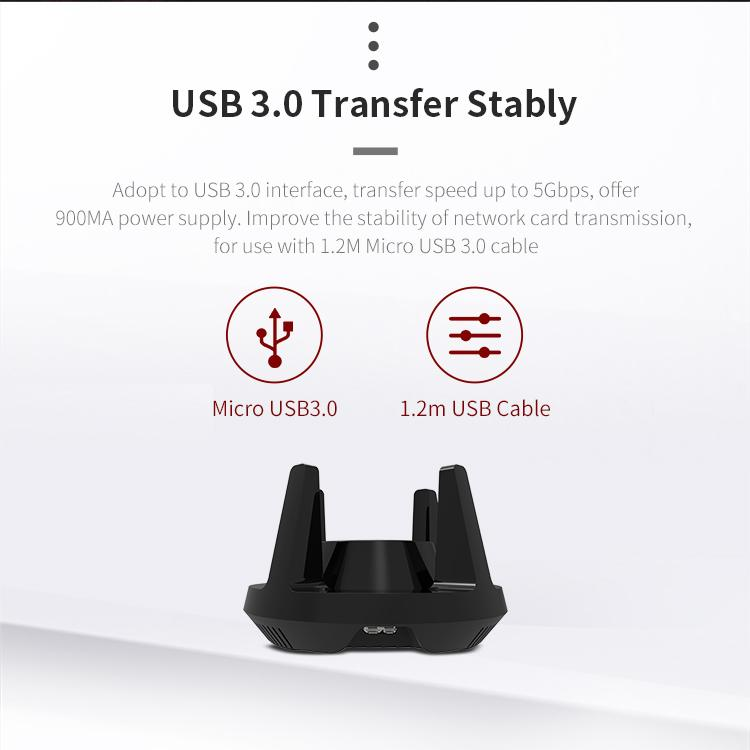 COMFAST 1900Mbps 802.11AC USB3.0 Wifi USB Adapter with 4 3dBi Antennas 3