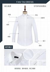 DP成衣免燙襯衫白色現貨男款
