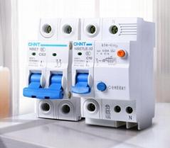 正泰空氣開關NBE7小型斷路器63A總空開家用1P短路保護2P空調電閘