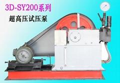 超高压试压泵的生产与维修检测装置