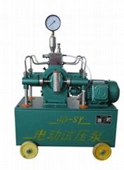 電動試壓泵操作指導安裝調試