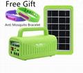 off-Grid Solar Home Lighting System Power Bank Solar Power System