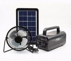 solar power system solar lighting kits with MP3 player FM radio bluetooth speake