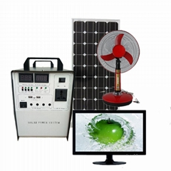 300W Solar Generator Home Solar Power System AC 220V/ DC 12V Output USB Charging