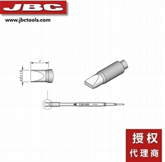 JBC全新原裝進口通用型手柄專用C245系列742 406 D咀 鑿形烙鐵頭