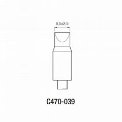 JBC原裝正品重負荷手柄專用C470系列烙鐵頭002 004 D咀鑿形烙鐵頭