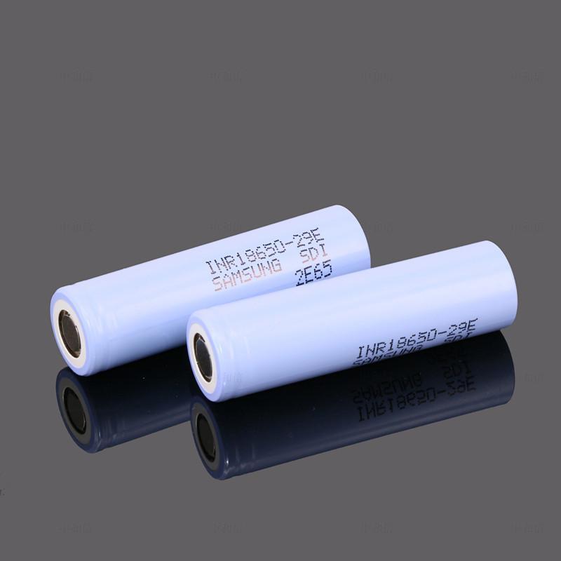 进口电芯三星29E大功率18650 2900mAh 3.7V10A放电动车电动工具锂电池 3