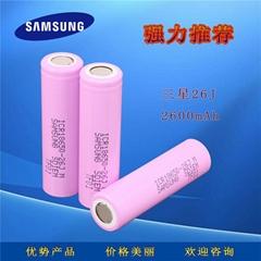 三星26J M 2600mAh锂电池ICR18650-26JM容量型移动电源笔记本