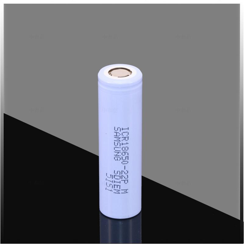 三星22P 18650锂电池 ICR18650-22PM 动力型工具电动车锂电池组 5