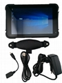 "R   ed Windows 10 Tablet PC Pro Computer RS232 USB IP67 Extrem Waterproof 8""  5"