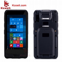 "Rugged Windows Tablet Mini PC Pocket Computer 6"" PDA Waterproof 2D Scanner"