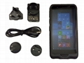 "R   ed Windows Tablet Mini PC Pocket Computer 6"" PDA Waterproof 2D Scanner 5"