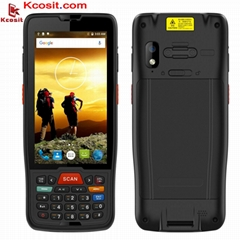 1D 2D PDA Barcode Scanner Android 9.0 QR Code Reader Numeric Keyboard POS