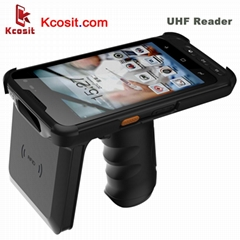 UHF RFID Barcode Scanner Reader Android Handheld Data Mobile Terminal PDA