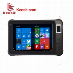 "Rugged Windows Tablet PC Fingerprint Reader UHF RFID 7"" 2D Barcode Scanner PDA"