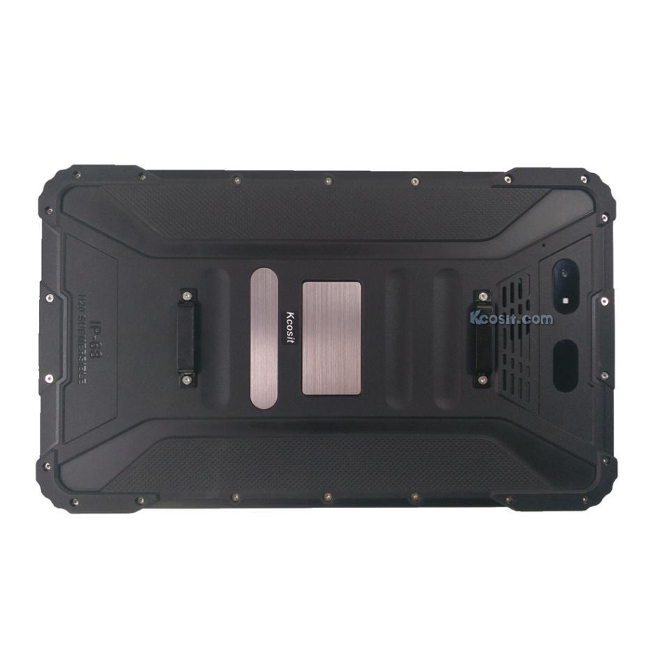"R   ed Android Tablet PC 8"" Waterproof Fingerprint Reader PDA Terminal  UHF RFID 2"