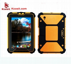 "Waterproof Tablet PC Android 4GB RAM Octa Core 8"" 13.0MP UHF RFID HDMI 4G GPS"