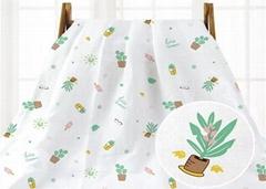 Double Layers Muslin Gauze Fabric