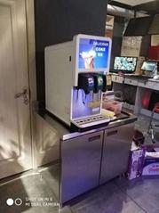 贵州现调果汁机汉堡店可乐机可乐糖浆配方