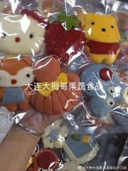果蔬动物卡通包子
