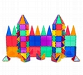 STEM Educational Magnetic Blocks Tiles Plastic Construction Toys for Children