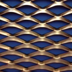 晓程菱形钢板拉伸网
