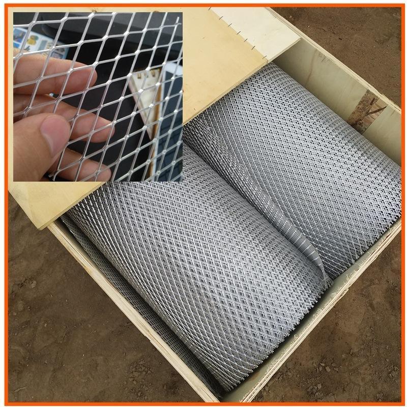 菱形钢板拉伸网 4