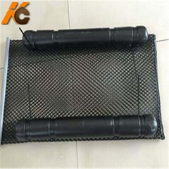 9*9mm HDPE Oyster Mesh Bag Aquaculture Net Cage with Floating