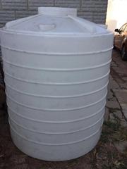 特耐2噸耐酸碱塑料儲罐2T塑料桶2立方水塔