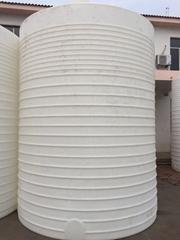 特耐20噸加厚塑料儲罐20T耐寒化工塑料桶20立方水塔
