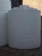 廠家5噸加厚外加劑儲罐5T耐寒塑料桶5立方水塔