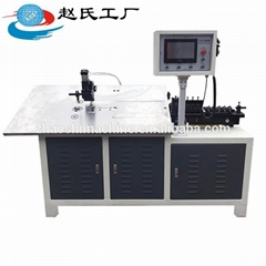 CNC servo automatic 2D iron wire stainless steel wire bending machine