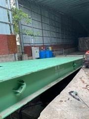 散糧貨車翻板卸車機