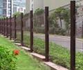 桃型柱护栏网三角折弯护栏网江苏淮安厂家直销 5