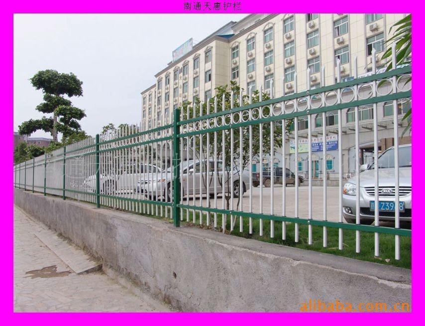 厂家直销小区栅栏围栏锌钢栅栏江苏淮安 4