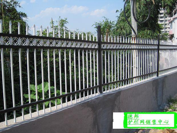 厂家直销小区栅栏围栏锌钢栅栏江苏淮安 5