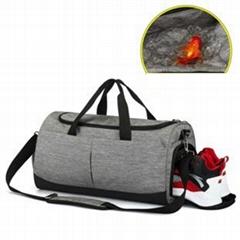 Giftmar Factory cheap travel backpack duffle bag shoes compartment