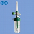 Wall Type Medical Oxygen Flow Meter with Humidifier