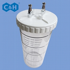 Wall Type Medical Suction Unit with Bottle