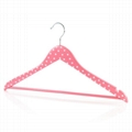 wooden clothes hangers with bar 4