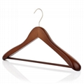 wooden clothes hangers for coats 1